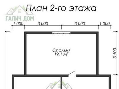 Картинка (6) План 2-го этажа (ДБ-18)