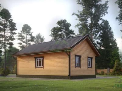Картинка (4) Проект дома из бруса 6х10 (ДБ-14)