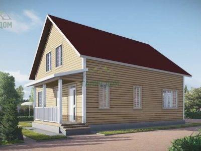 Картинка (4) Дом из бруса 9 на 10 (ДБ-53)