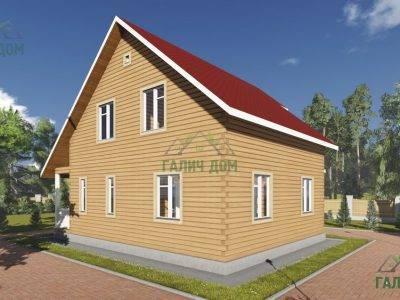 Картинка (4) Проект брусового дома 9х10 (ДБ-92)