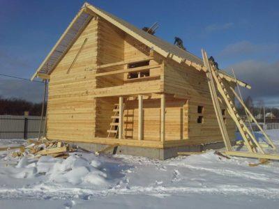 Строительство дома из бруса в городе Волоколамске