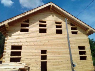 Строительство дома из профилированного бруса в Ногинском районе