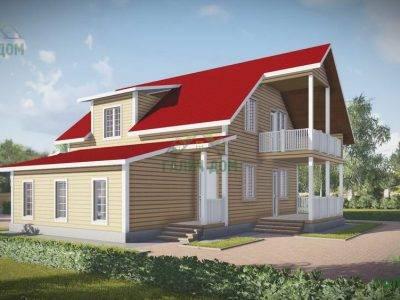Картинка (2) Дом из бруса 12х13 (ДБ-51)