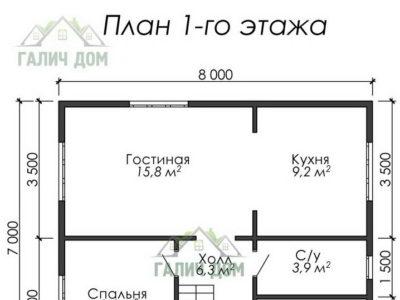 Картинка (5) План 1-го этажа (ДБ-36)