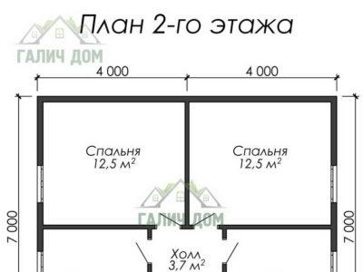 Картинка (6) План 2-го этажа ДБ-36)