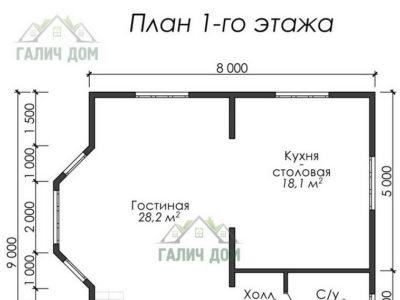 Картинка (5) План 1-го этажа (ДБ-38)