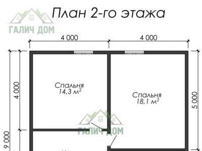 Картинка (6) План 2-го этажа ДБ-38)