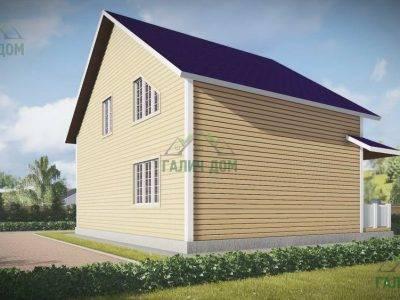Картинка (4) Проект дома из бруса 9 на 10 (ДБ-54)
