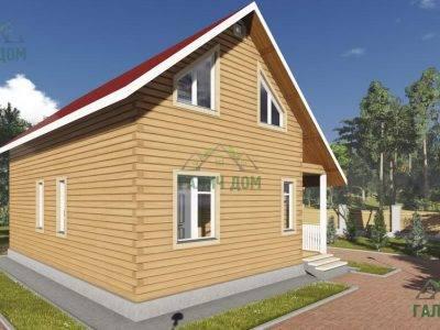 Картинка (4) Проект дома 7х10 (ДБ-98)