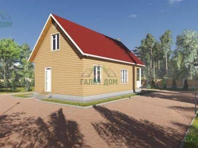 Картинка (4) Проект дома из бруса 7 на 12 (ДБ-15)