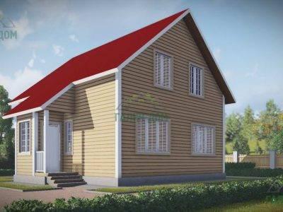 ДБ-149 | Деревянный дом из бруса 9х11