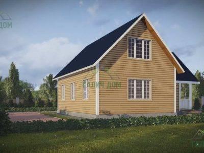 Картинка (3) Дачный дом из бруса 10х11 (ДБ-46)