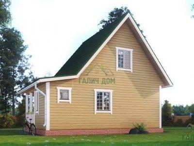 Картинка (3) – Дом из профилированного бруса 6х8