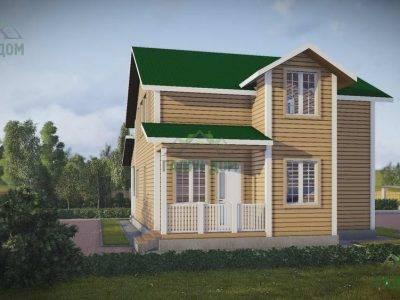 Картинка (3) Проект дома из бруса 9х13 (ДБ-47)