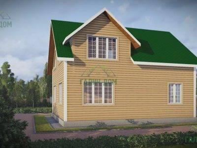 Картинка (4) Проект дома из бруса 8х11 (ДБ-49)