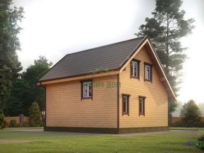 Картинка (3) Проект дачного дома 7х8 (ДБ-40)