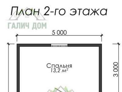 Картинка (6) План 2 этажа (ДБ-9)