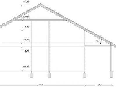 Картинка (10) Высота дома 8х12 (ДБ-73)