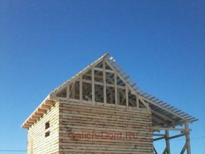 Строительство дома из бруса в городе Чухлома