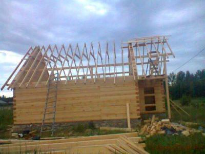 Строительство брусового дома в Липецкой области