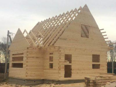 Строительство дома из бруса в г.Чехов