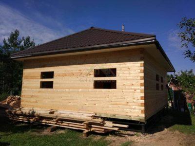 Строительство одноэтажного дома из профилированного бруса в Истринском районе