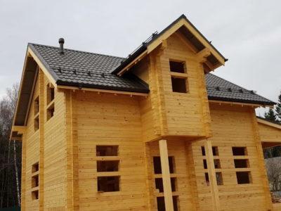 Строительства дома для постоянного проживания из профилированного бруса