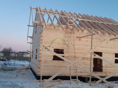 Строительство полутораэтажного дома в Чеховском районе