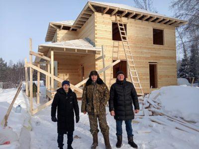 Cтроительство дома из проф бруса во Владимирской области