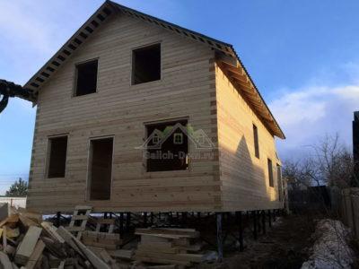 Строительство дома г. Москва, д. Васюнино