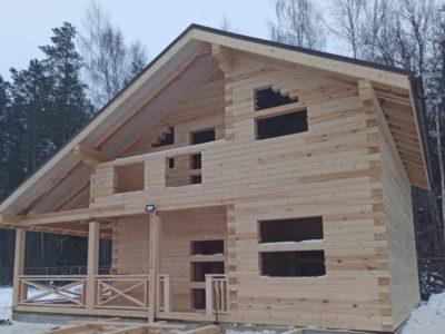 Cтроительство полутораэтажного дома в Конаковском районе