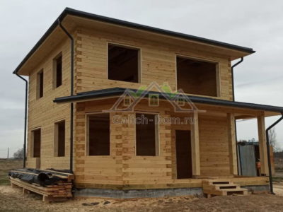 Строительство дома из профилированного бруса в Раменский район, д. Какузево