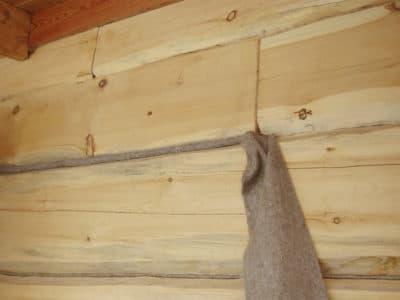 Как конопатить дом из бруса?
