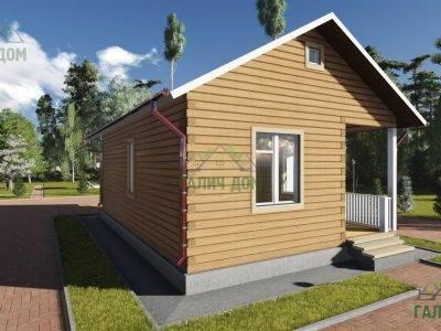 Картинка (4) Проект одноэтажного дома 6х9 (ДБ-83)