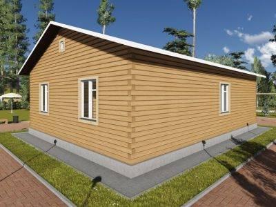 Картинка (3) Проект одноэтажного дом 11х12 (ДБ-84)