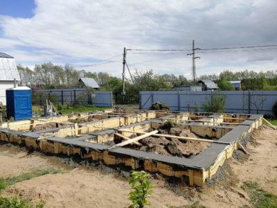 Строительство ленточного фундамента в Воскресенском районе