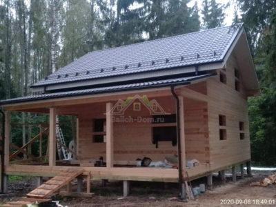 Строительство дома из профилированного бруса в Клинском районе