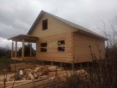 Дом по проекту ДБ-195 в Тульской  области