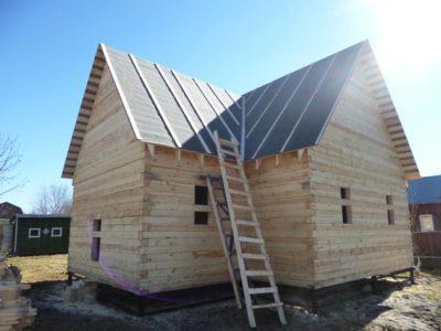 Фоторепортаж строительства дома в г. Орехово-Зуево