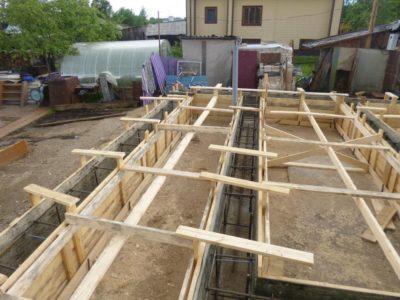 Cтроительство фундамента 7х9 м —  г.Галич