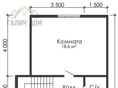 Картинка (6) План 2-го этажа ДБ-20)