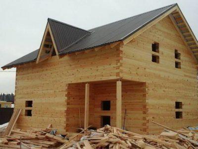 Строительство дома из бруса в Дмитровском районе