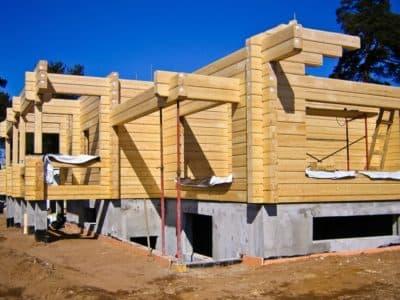 Технология строительства брусовых домов