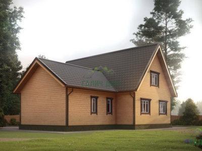 Картинка (4) Проект дома из бруса 12х13 (ДБ-20)